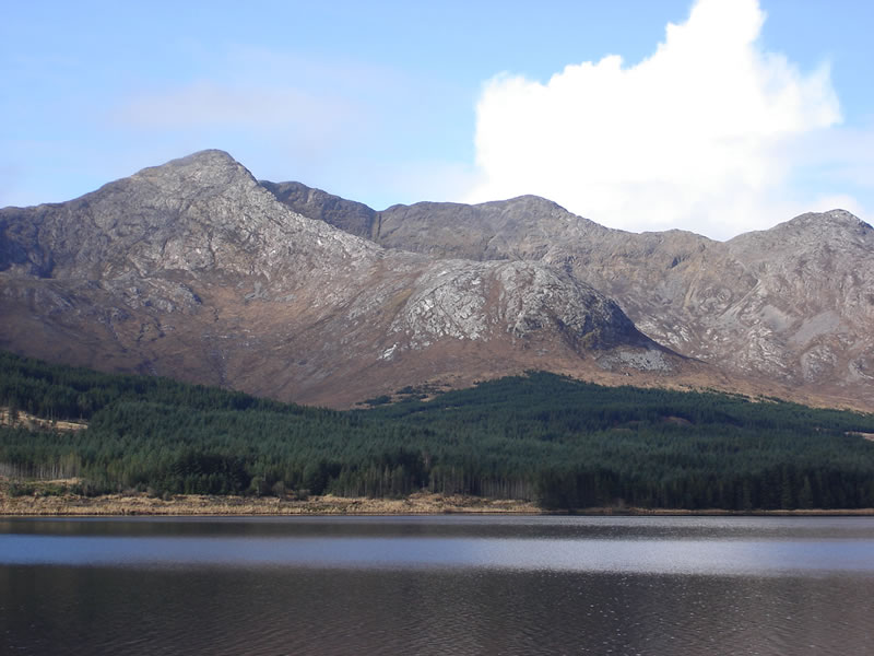 The Twelve Bens Mountains